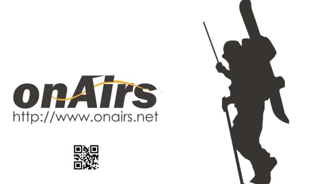 オンエアーズがすすめるバックカントリーでのアマチュア無線活用