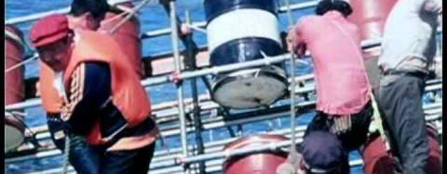 1976年、沖ノ鳥島でアマチュア無線を運用。一般が参加できた同島での唯一のアクティビティ。