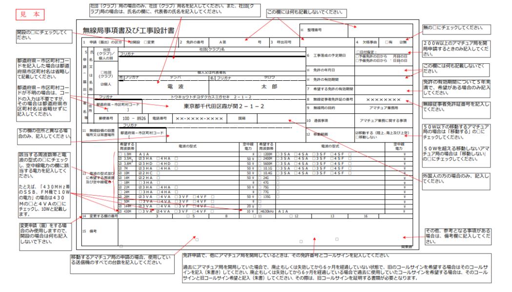 総合通信局一覧 開局申請書類ダウンロード